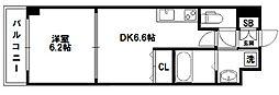 WillDo 十三東1st[9階]の間取り