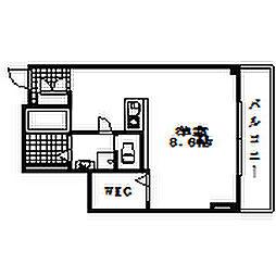 ラ・アステラス[2階]の間取り