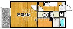 ルレールfI・II[2-203号室号室]の間取り