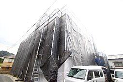 広島県広島市南区東霞町の賃貸アパートの外観