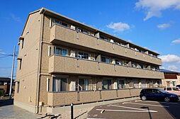 愛知県安城市姫小川町遠見塚の賃貸アパートの外観