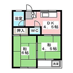つるいビル[5階]の間取り