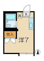 MANO HEIM[2階]の間取り