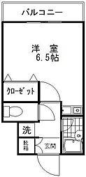 テラスデイジィ[3階]の間取り