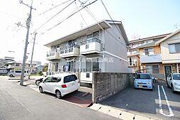 岡山県岡山市北区新屋敷町3丁目の賃貸アパートの外観