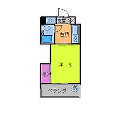 メゾンパルス[3階]の間取り