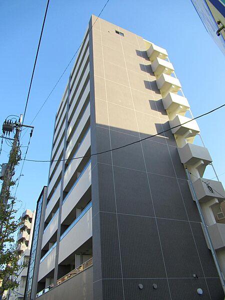 クレヴィスタ蒲田II[4階]の外観