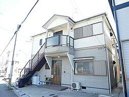 兵庫県明石市二見町福里の賃貸アパートの外観