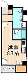 KS入谷EAST[701号室]の間取り