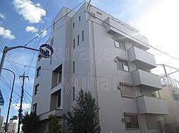 東京都目黒区東が丘1丁目の賃貸マンションの外観