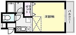 メゾンド大崎[102号室]の間取り