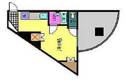 久保田ビル(寺前)[3階]の間取り
