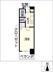 CK錦レジデンス[10階]の間取り