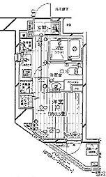 プレール・ドゥーク新宿御苑[902号室号室]の間取り
