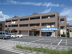 京都府木津川市梅美台1丁目の賃貸マンションの外観