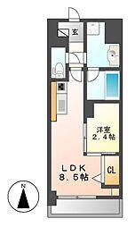 ポルタニグラ大須[10階]の間取り