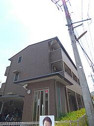 埼玉県蕨市中央6丁目の賃貸アパートの外観