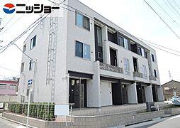 愛知県名古屋市港区惟信町2丁目の賃貸アパートの外観