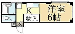 メゾン陽生[1階]の間取り