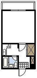 東海第1ビル[205号室]の間取り