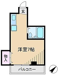コラゾンK・S[2階]の間取り
