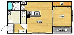 ARCASA KISHINOSATO I[3階]の間取り