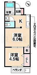 [一戸建] 愛知県名古屋市南区鳥栖2丁目 の賃貸【/】の間取り