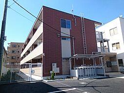 神奈川県大和市代官1丁目の賃貸アパートの外観