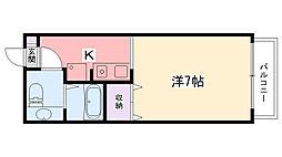 ソフィア武庫川[201号室]の間取り