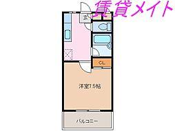 メゾンブローニュ6号棟[4階]の間取り