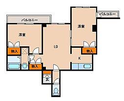 ARECX姉崎[3J2号室]の間取り