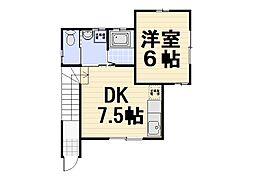 [一戸建] 埼玉県所沢市和ケ原1丁目 の賃貸【/】の間取り