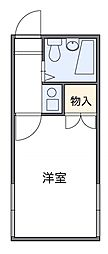 東京都板橋区前野町1丁目の賃貸アパートの間取り