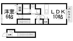 エスポワールAya I[0205号室]の間取り
