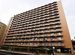 築地永谷コーポラス[7階号室]の外観