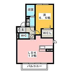 アリオン W[2階]の間取り