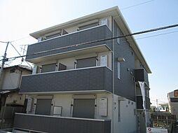千葉県柏市明原3丁目の賃貸アパートの外観