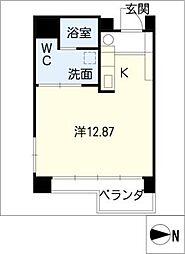 UD翔 羽島[4階]の間取り