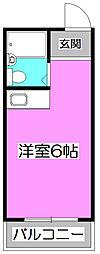 センチュリー三原[2階]の間取り