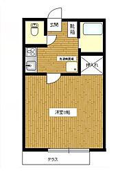 クレアハイム[2階]の間取り