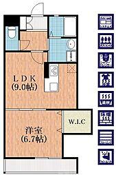 矢田駅 5.9万円