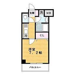 スペサイドK[7階]の間取り