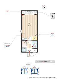 KiKiハウス[2階]の間取り
