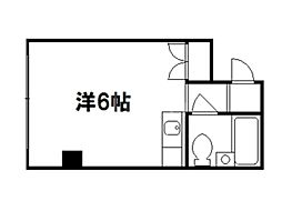 GRAND VALUE 西陣[3階]の間取り