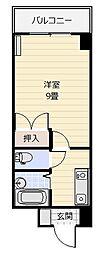 ウインズ浅香I[3階]の間取り