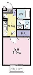 ひくまのハウス[A103号室]の間取り