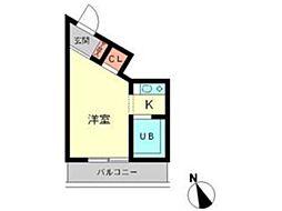 エトワール小金井[1階]の間取り