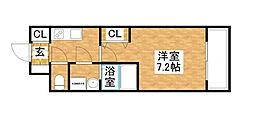 S-RESIDENCE新大阪WEST[6階]の間取り