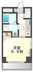 神奈川県横浜市中区福富町西通の賃貸マンションの間取り