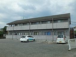 群馬県太田市東長岡町の賃貸アパートの外観